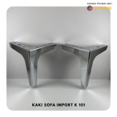 Kaki Sofa K101 Stainless New Model
